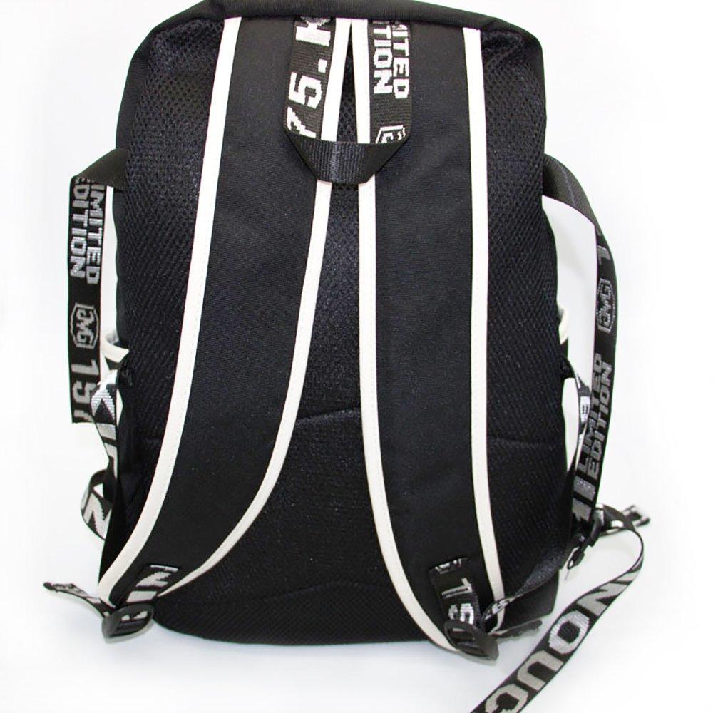 Amazon.com: Fanstown Kpop BTS Hiphop Backpack pin Botton Set Canvas Messenger Bag with lomo Cards: Computers & Accessories
