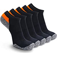 Weekend Peninsula 5 Pairs Trainer Sports Running Socks for Men Women Ladies Cushioned Padded Anti Blister Low Cut Invisible Ankle Sneaker Socks