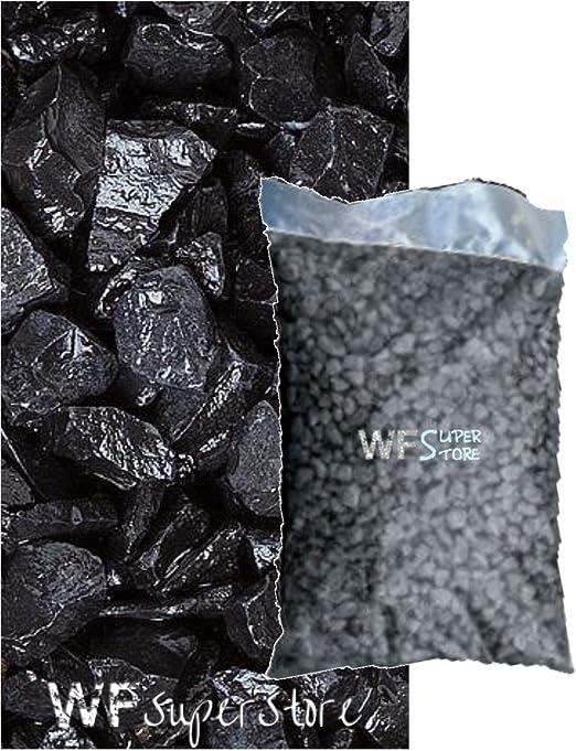 graniglia de mármol negro ébano 9/12 mm – Saco de 25 kg – Guijarros Piedras Jardín: Amazon.es: Jardín