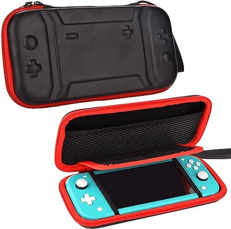 Funda para Nintendo Switch Lite - Portátil Viaje Estuche para Switch Lite Consola y accesorios: Amazon.es: Videojuegos