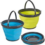 Guaranteed4Less Large foldable silicone bucket - 10L water bucket for home or camping use.