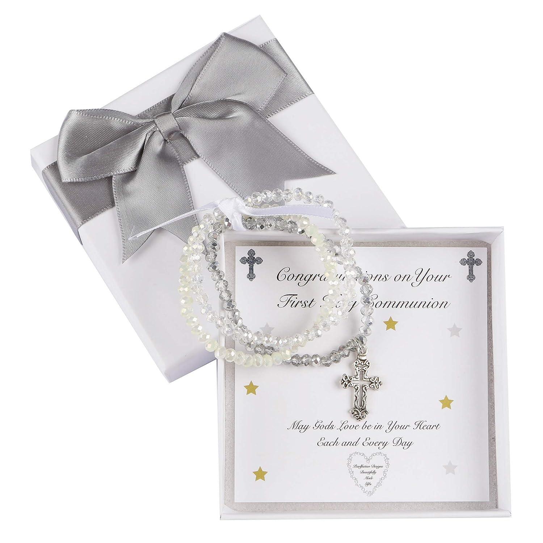 Lusso Lia Filles Cristal Bracelets de Communion