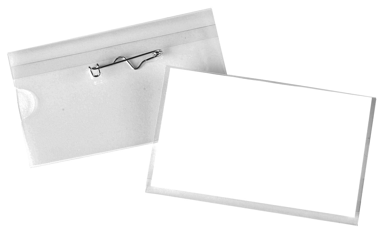 Announce Targhette per il nome, 100 pz, con spilla ondulata, 40 x 75 mm Pavo Sales B.V 8009299