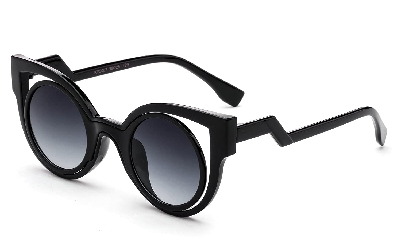 Kids Girls Fashion Sunglasses Unique Design Round High Fashion Girls Sunglasses
