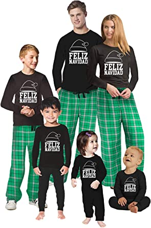 Full Family Matching Xmas PJ Sets Lit Matching Family Christmas Pajamas