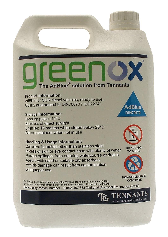 AdBlue 5L Solution Tennants Distribution Ltd. AD905