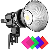 GVM Great Video Maker 80W CRI97+ LED Video Light with Bowens Mount Color Temperature