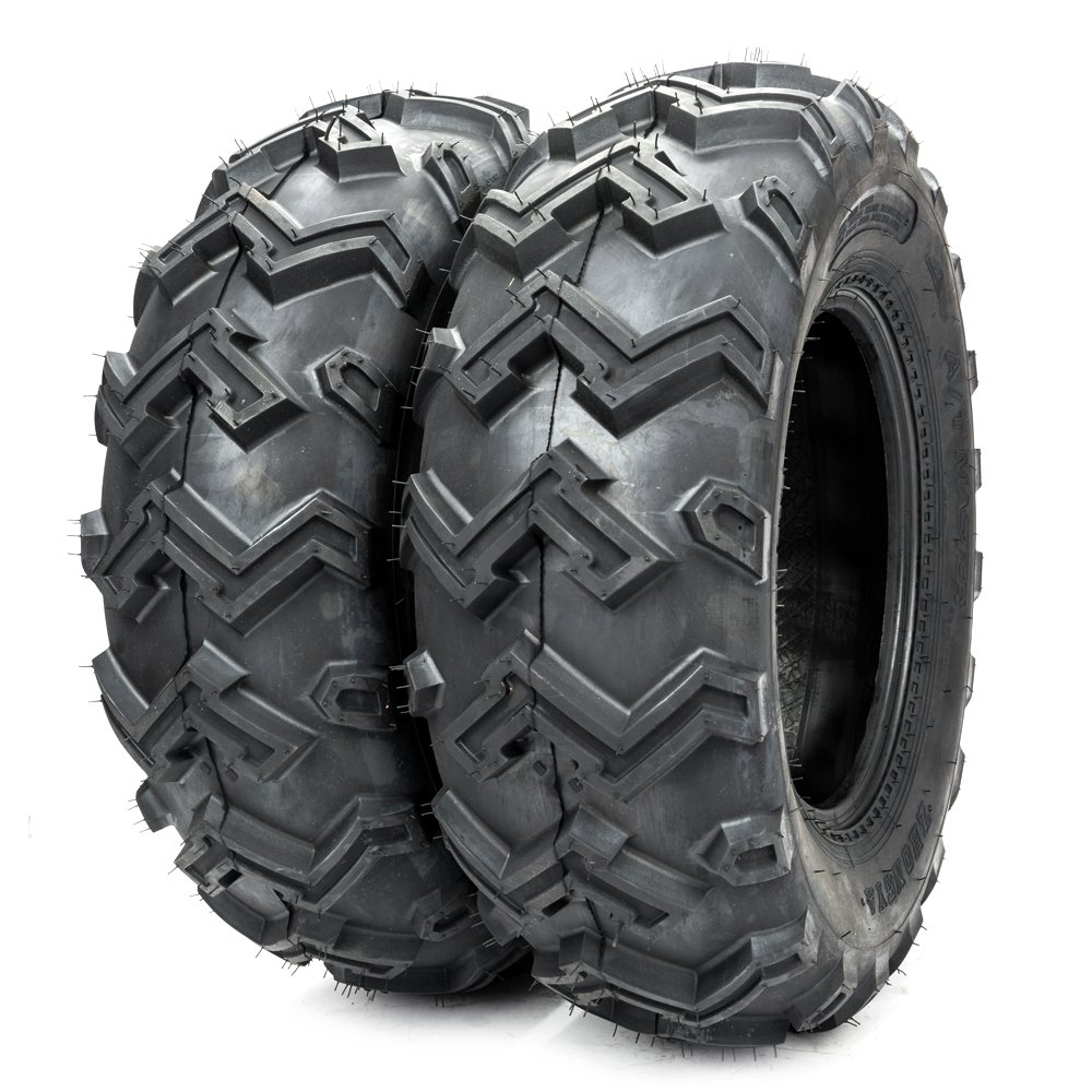 2PCS Front ATV UTV All Trail Tires 25x8-12 25x8x12 6Ply P306