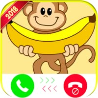 Monkey Banana Calling You - Free Fake Phone Call ID 2018 - PRANK