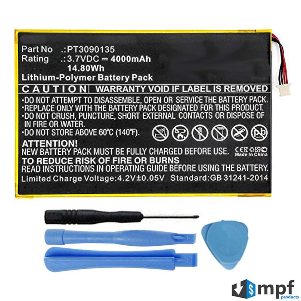 Bateria Tablet 4000mah Pt3090135 Para Rca Galileo Pro 11.5 R