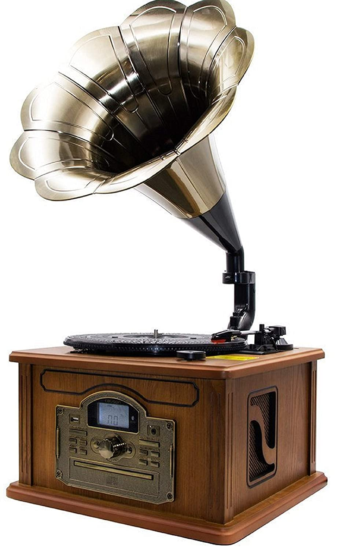 Nostalgie Retro Tocadiscos | Equipo estéreo | Minicadena | Cadena ...
