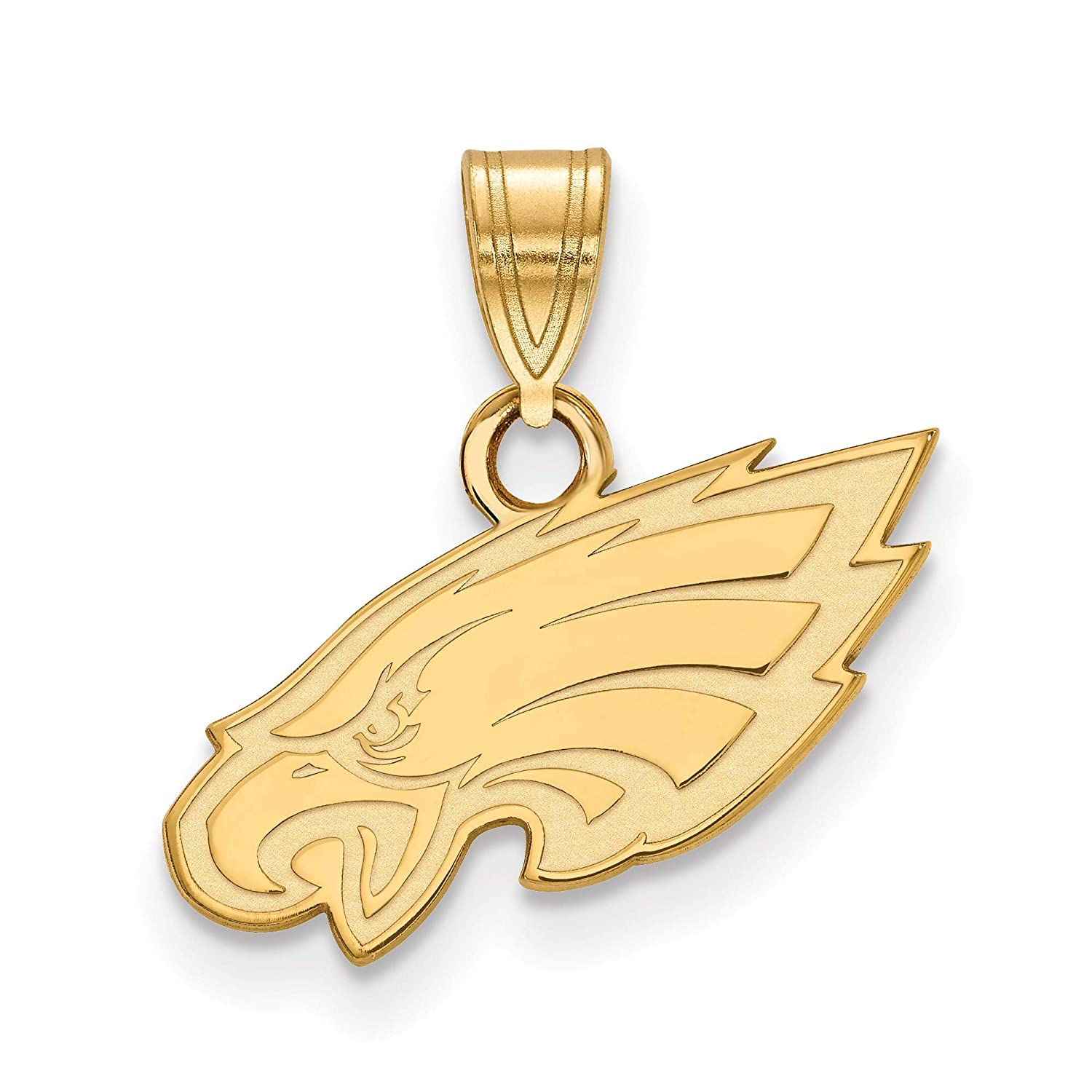 Necklaces and Bracelets Gold Plated Philadelphia Eagles Small Pendant for Chain