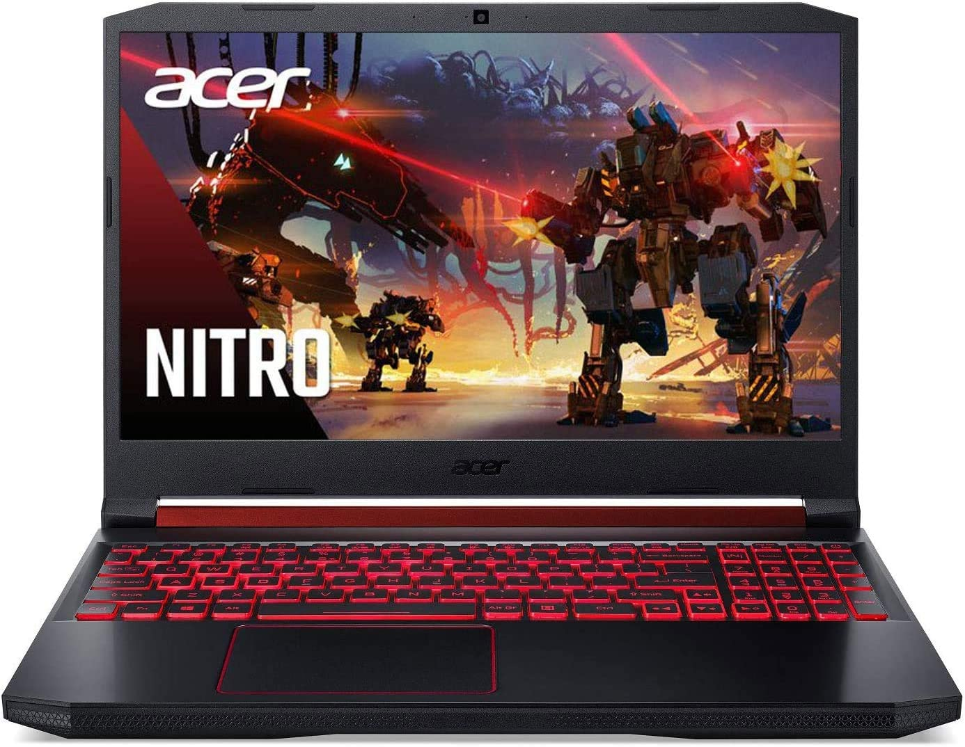 "Acer Nitro 5 Gaming Laptop, 9th Gen Intel Core i5-9300H, NVIDIA GeForce GTX 1650, 15.6"" Full HD IPS Display, 8GB DDR4, 256GB SSD + 1TB HDD, Wi-Fi 6, Backlit Keyboard, Win10"
