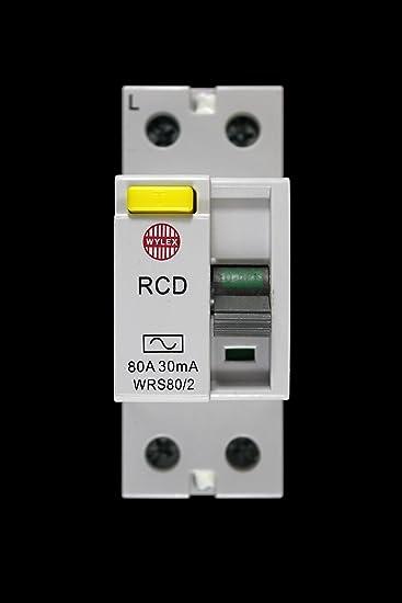 Wylex RCD 80 A Amp 30mA WRS80//2