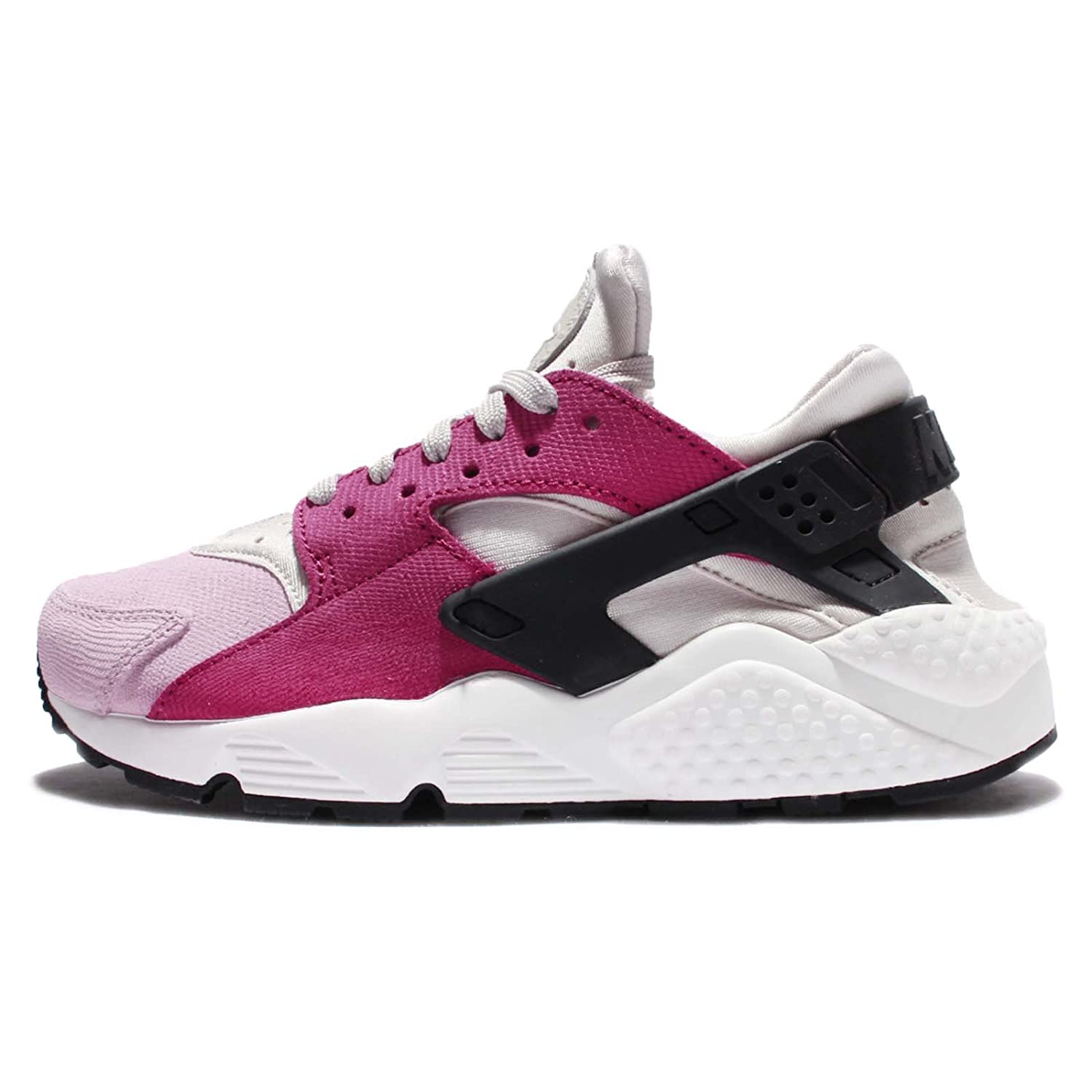 nike huarache womens black and pink
