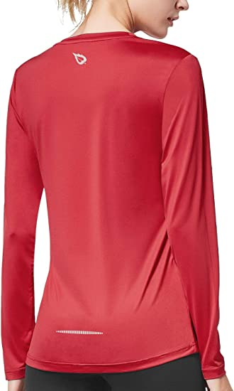 BALEAF Women's Long Sleeve Quick Dry Shirts