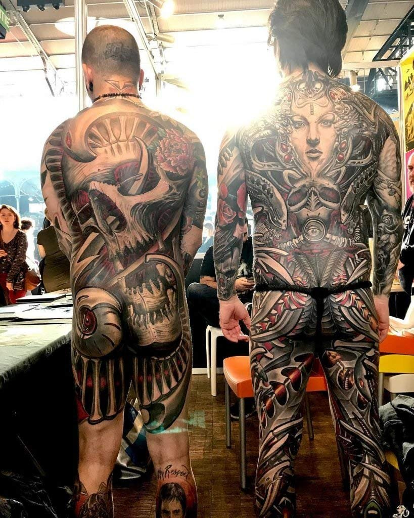 Tattoo Ink Viking Ink. Black Dynamite 9oz (270ml.) by Viking-Ink B&W