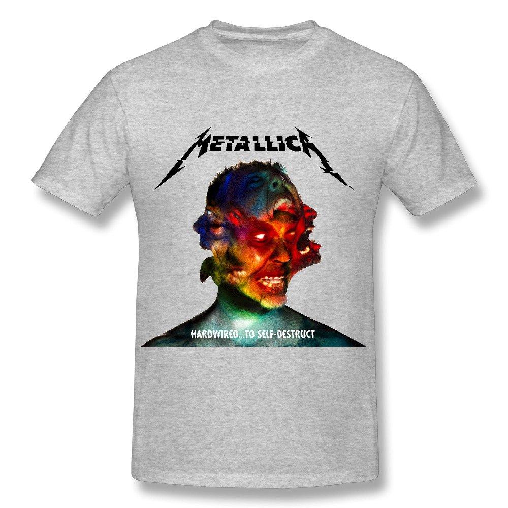 Dalef S Metallica Hardwired Fashion O Neck T Shirt Us Black