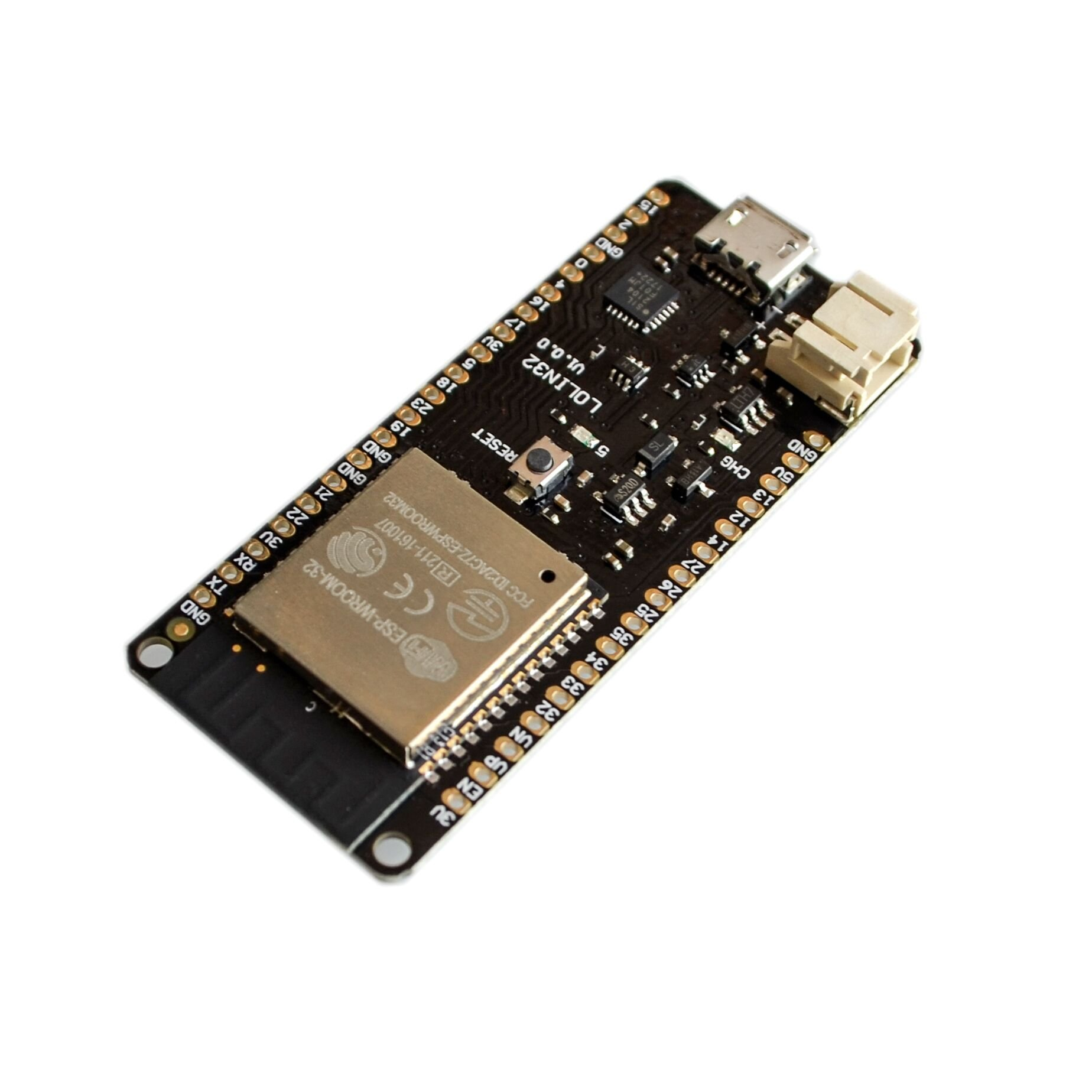Seajunn 10PCS/LOT ESP32 ESP-32 ESP-32S ESP32S For WeMos Mini D1 LOLIN32 Wifi Bluetooth Wireless Board Module Based ESP-WROOM-32 Dual