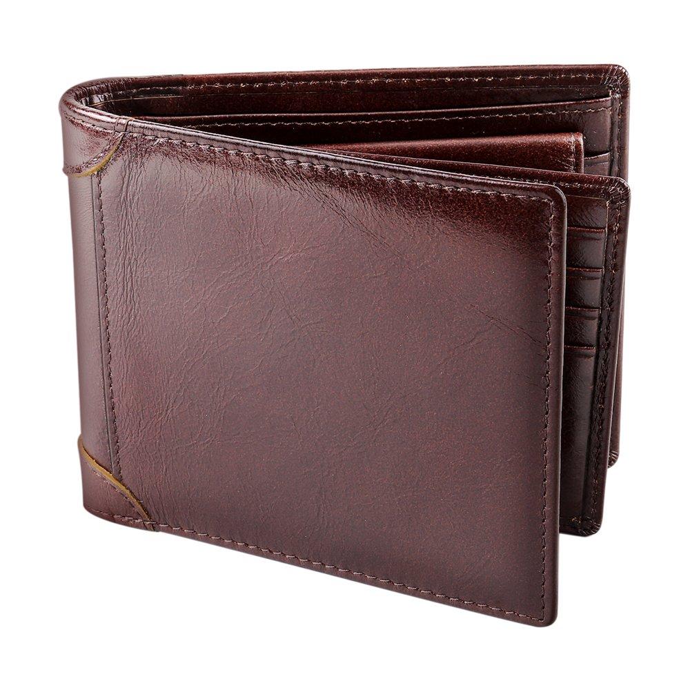 Portefeuille homme 12 5 x 9 5 portefeuille pour homme en cuir porte monnaie en cuir 12 5 x 9 5 x 2 c - Porte monnaie lacoste homme ...