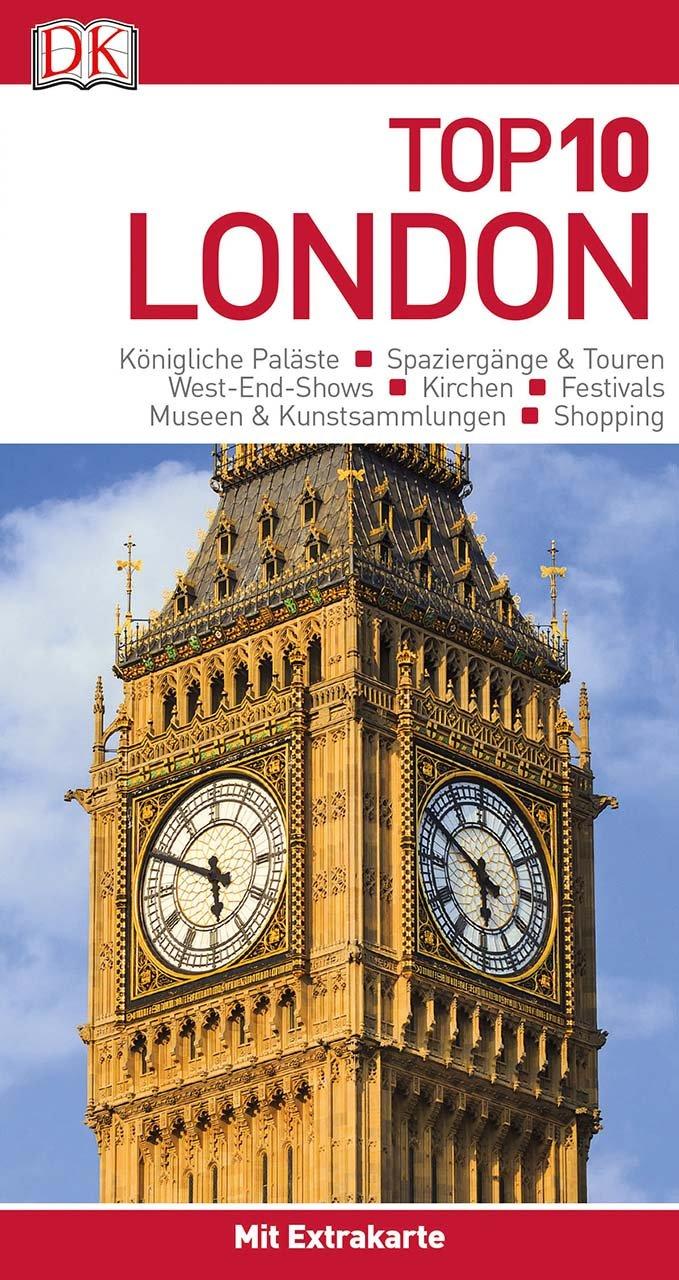 Top 10 Reiseführer London: mit Extrakarte und kulinarischem Sprachführer zum Herausnehmen
