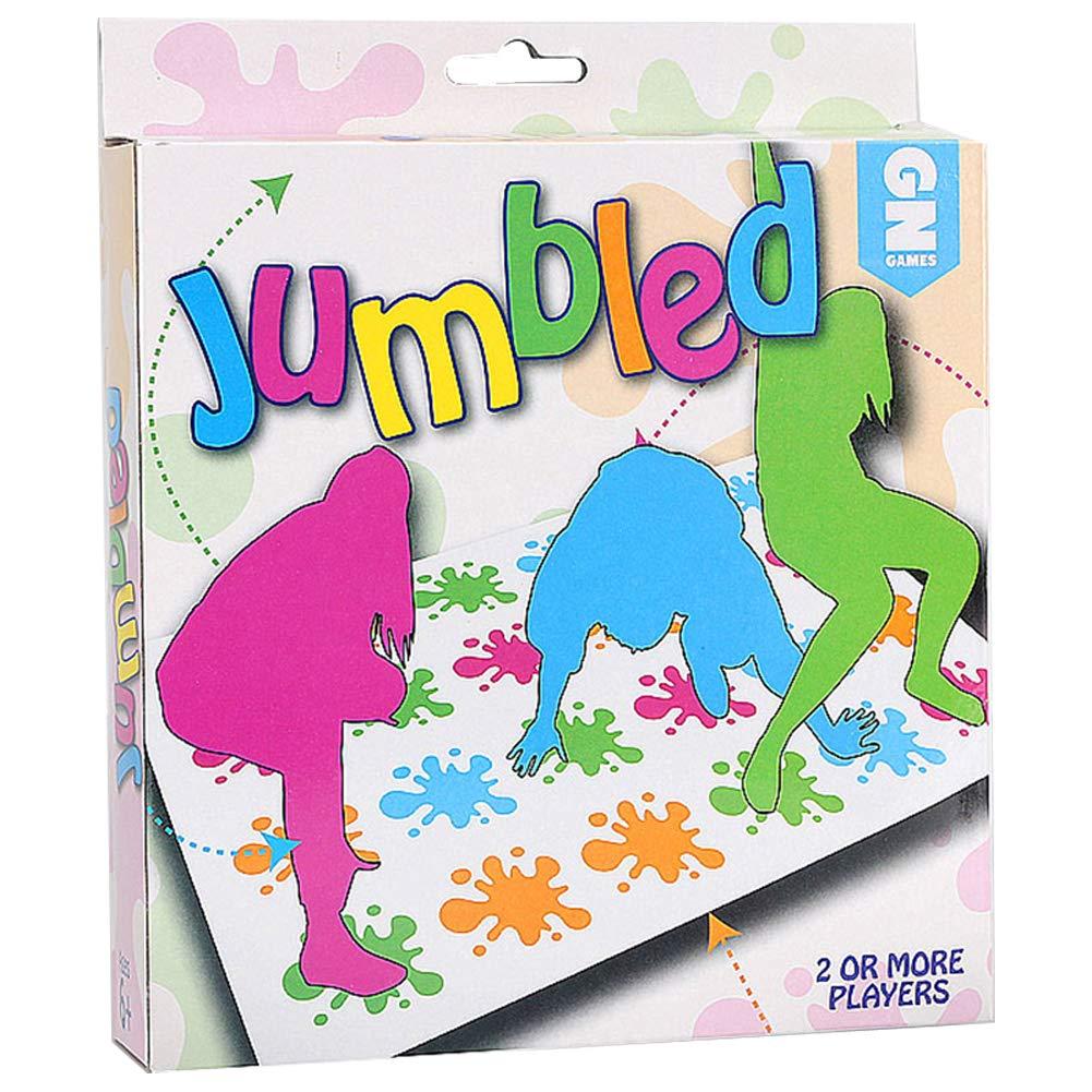SpringPear® Familienbrettspiel Punkt Spielteppich Twister Lustig Spiel für Familie Freund Party Outdoor Sport Kinderspiel ab 6 Jahr