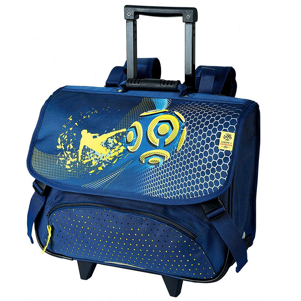 LIGUE 1 Wheeled School Bag 41 cm 2 Compartments