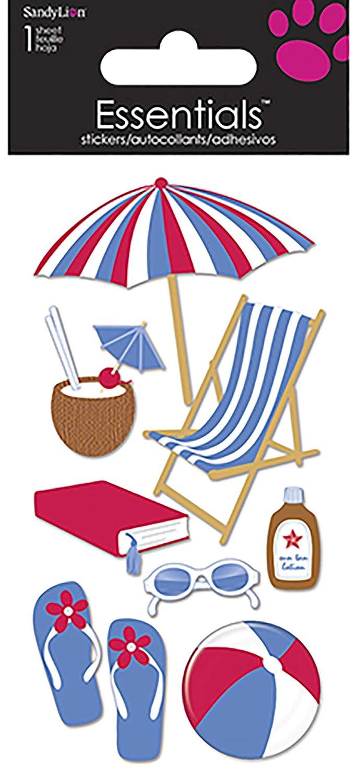 Sandylion On The Beach Essentials Sticker Trends International PESL27