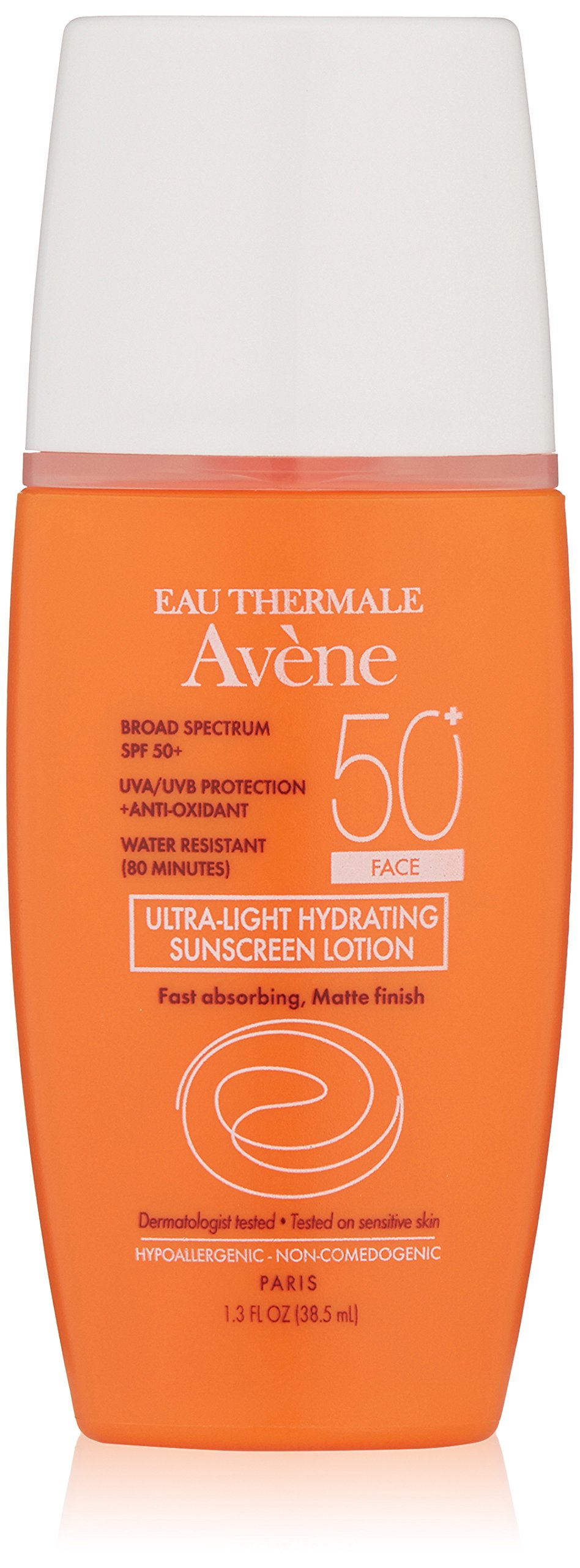 Eau Thermale Avene Ultra-Light Hydrating Sunscreen Lotion SPF 50+ (Face) 1.7 fl. oz