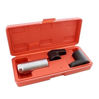 ABN 3 Piece 3/8in Drive Oxygen Sensor Wrench Socket Set: Automotive