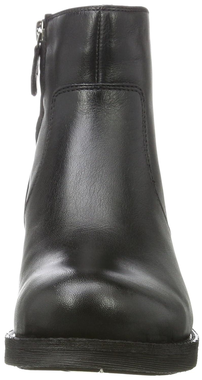 Geox Damen D New New D Virna D Chelsea Stiefel Schwarz (schwarz) 8cf5bf