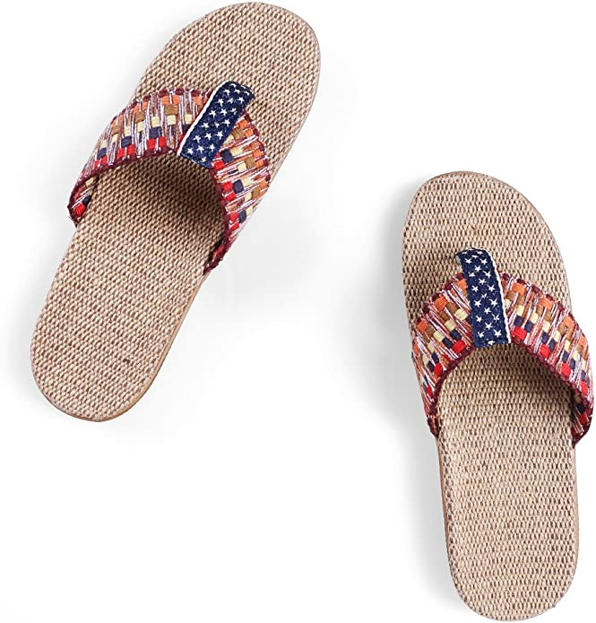 Unisex Summer Beach Slippers Dead Moon Flip-Flop Flat Home Thong Sandal Shoes