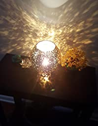 "Ikea Table Lamp Knubbig Gold 7"" - - Amazon.com"