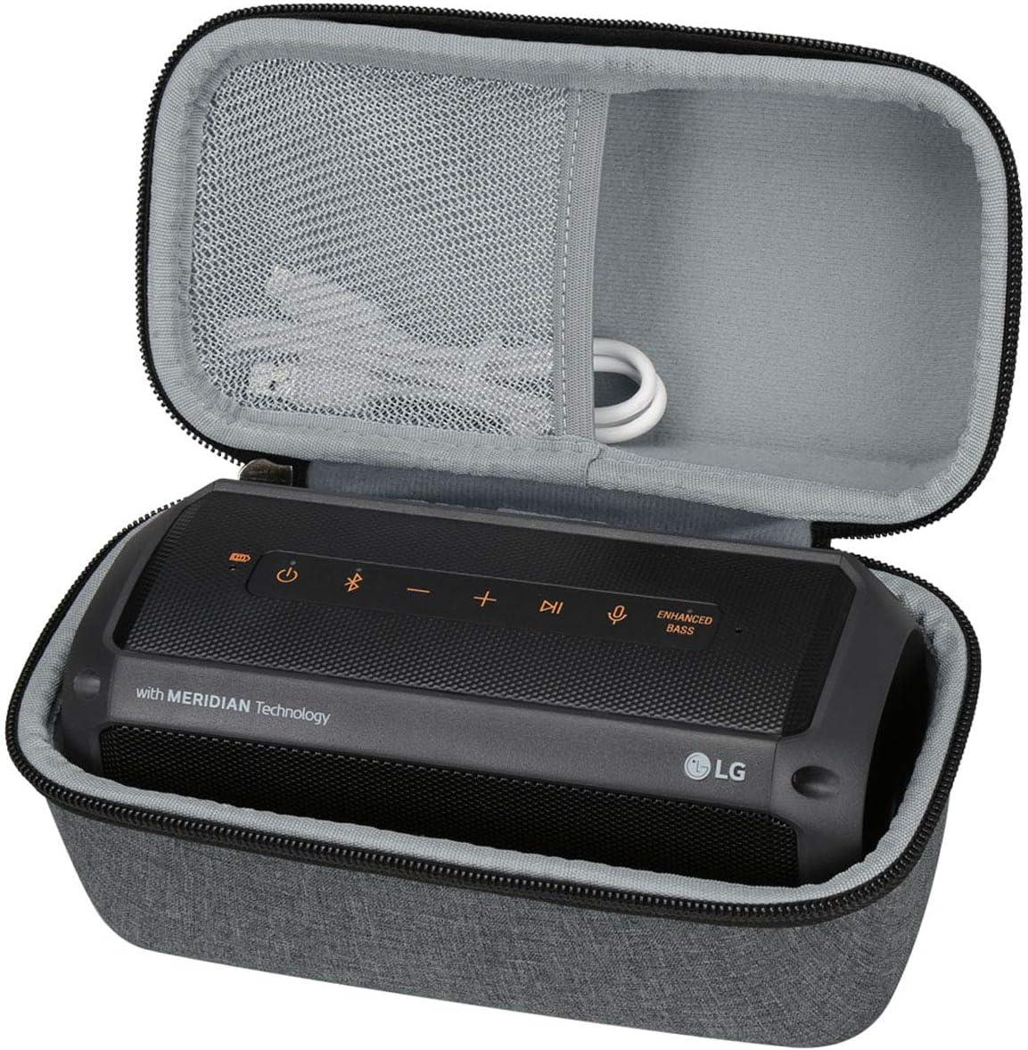 Aproca Duro Viajes Funda Bolso Caso Para LG XBOOM PK3 Altavoz portátil