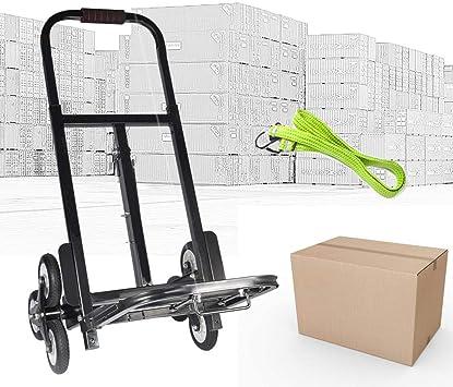 Transportkarre Klappbar Treppensteiger Sackkarre Stapelkarre 80 kg Belastbar