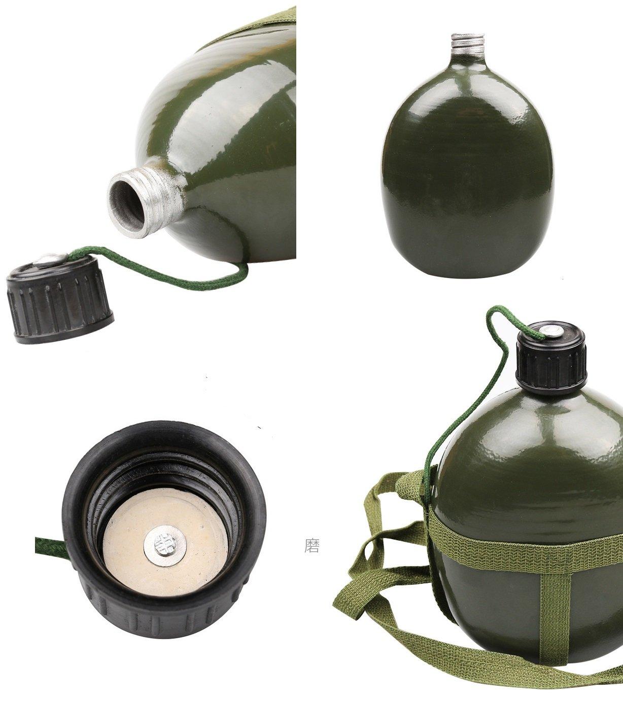 Amazon.com: bluesunshine estilo militar Canteen, 1/1,5/2/2,5 ...