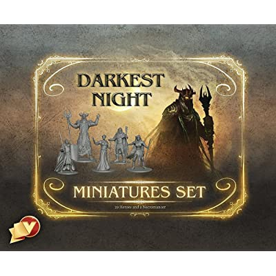 Darkest Night Miniatures Set: Toys & Games