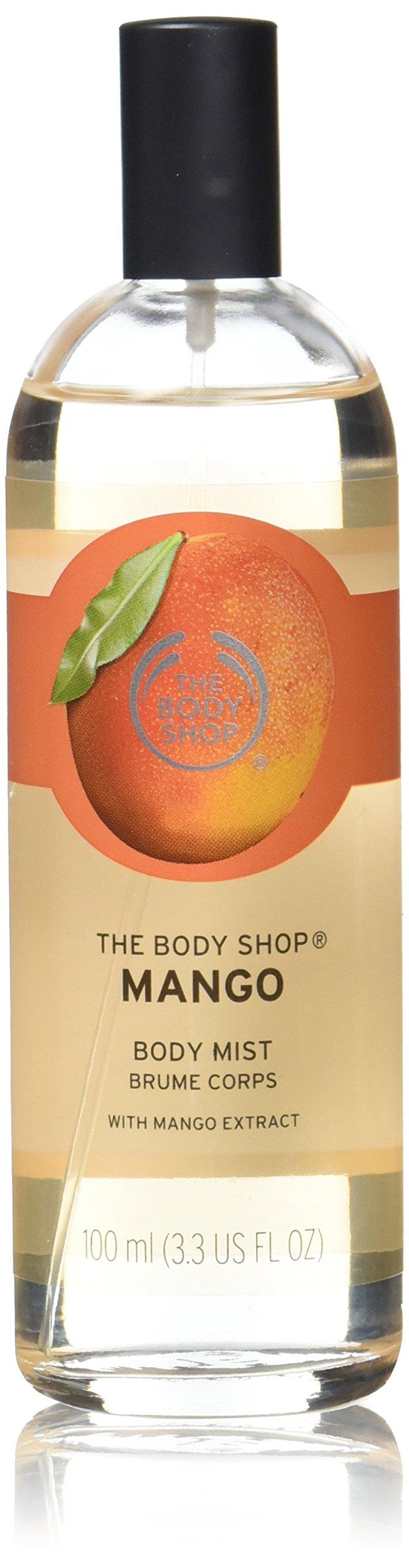 The Body Shop Mango Body Mist, Paraben-Free Body Spray, 3.3 Fl. Oz.