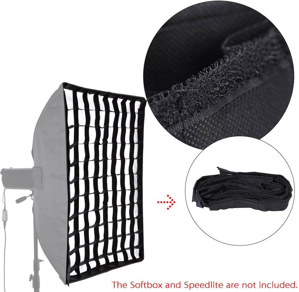 20 Andoer/® 50 Estrobosc/ópico 70cm 28  Fotogr/áfica Cuadr/ícula Alveolar para Paraguas Softbox Umbrella Softbox de Estudio