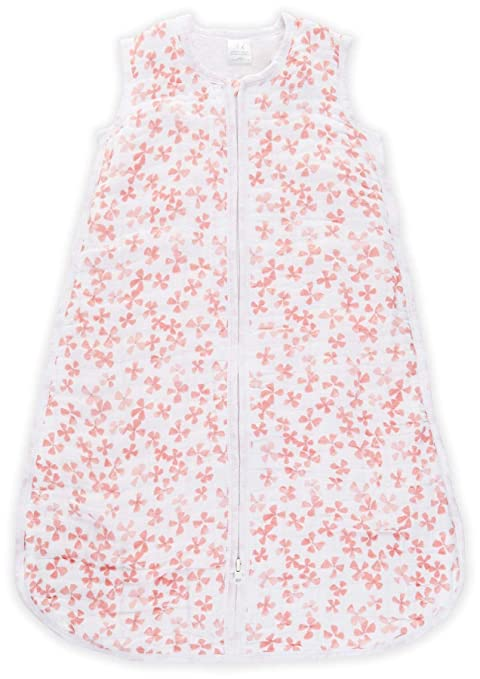 Amazon.com: aden + anais Multi-Layer Sleeping Bag - Birdsong - Blossom - 12-18m: Baby