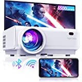 """Projector WiFi,TOPTRO 6500 Lumen Bluetooth Video Projector,Support 1080P Home Projector,200"""" Display,HiFi Speaker Compatible"""