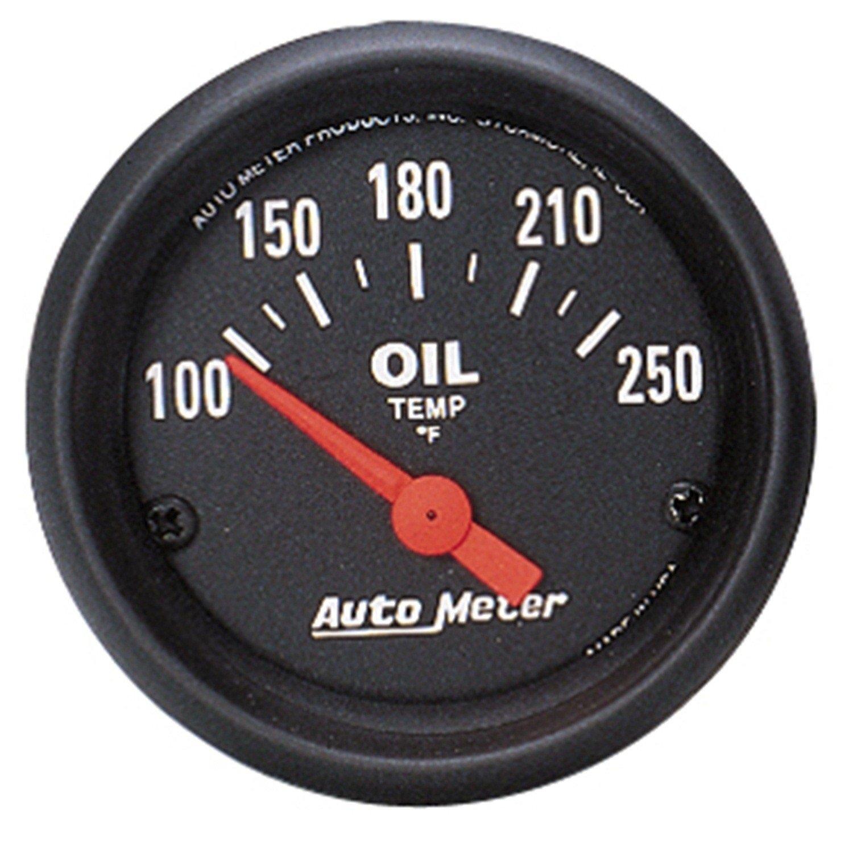 Amazon.com: Auto Meter 2638 Z-Series Electric Temperatura de ...