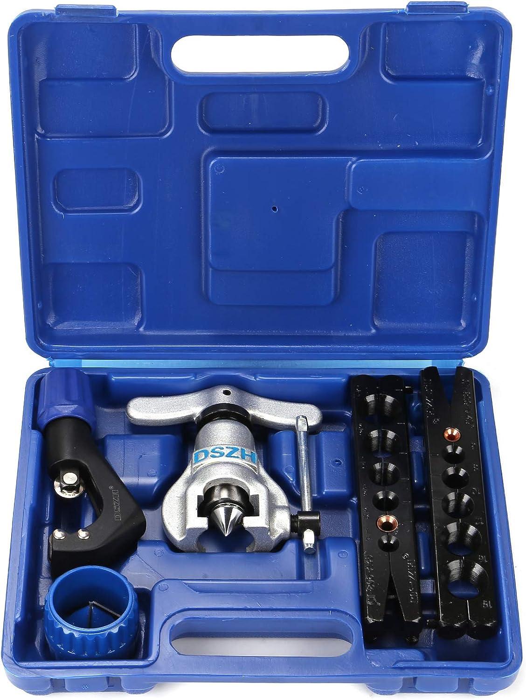 Allright Bördelgerät Bremsleitung Bördelwerkzeug Werkzeug Satz Klimaanlage Für Kfz Bördeln Küche Haushalt