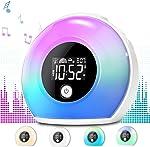 Uplayteck Night Light Alarm Clock for Kids - Wake Up Alarm