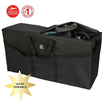 12bcc852d6a1 JL Childress Stroller Travel Bag for Single and Double Strollers, Durable  and Protective,...