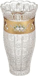 Bohemia K305-3G Crystal Decorative Vase