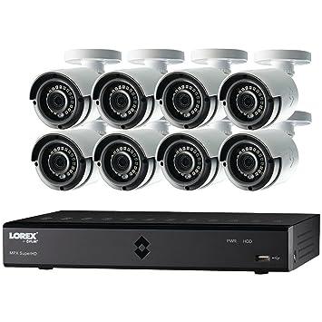 Lorex por FLIR lha2000 16 canales DVR de HD Mpx con 8 x lab223b 1080P impermeable