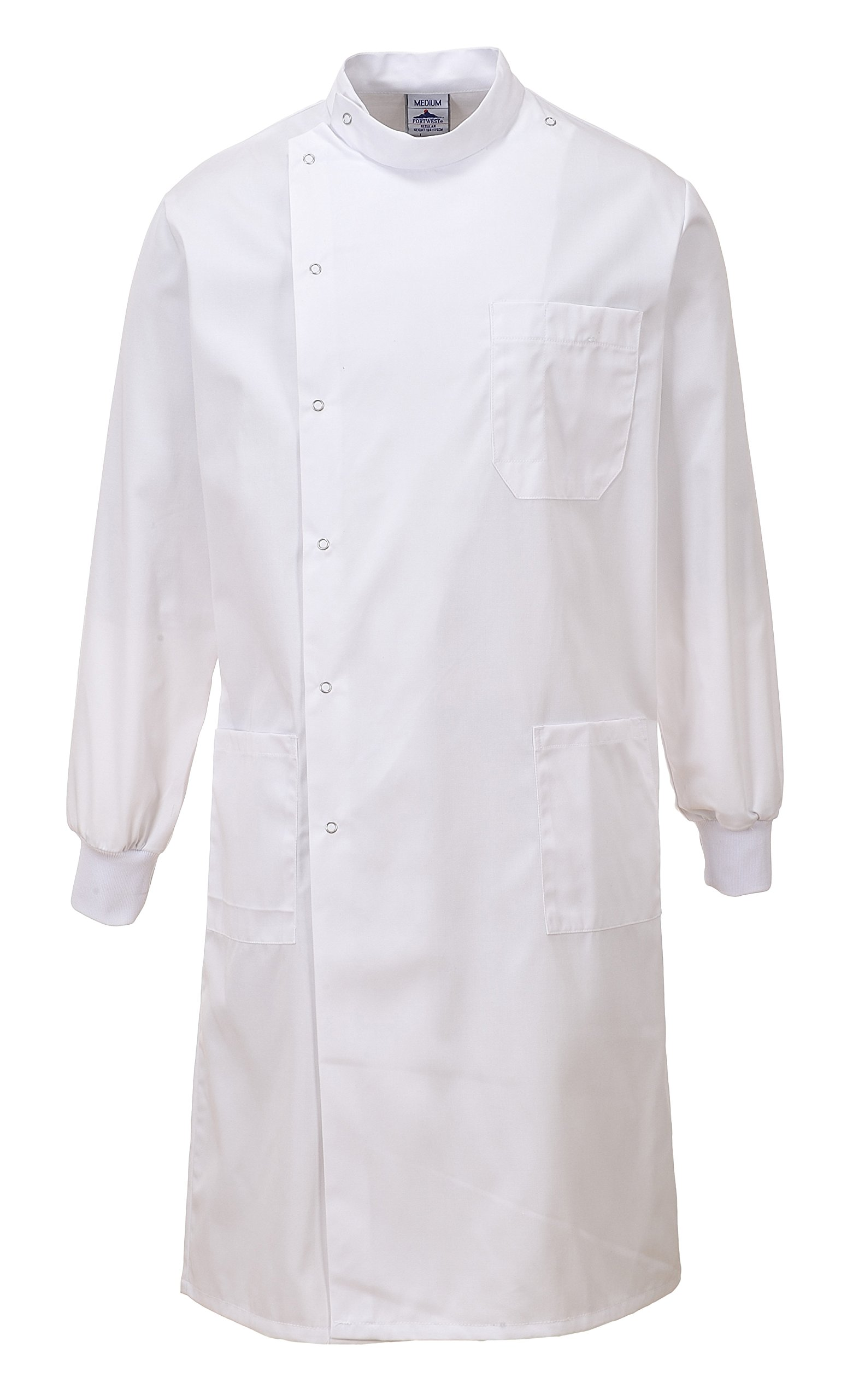 Portwest Workwear Mens Howie Coat White XSmall