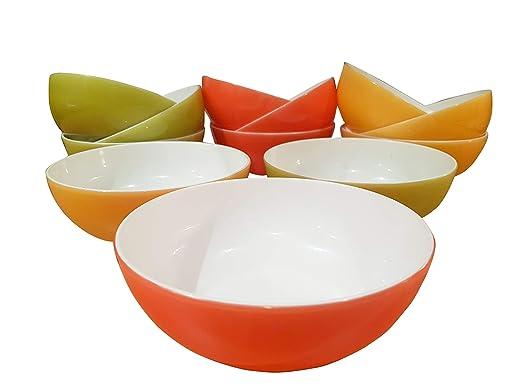 Roch Valley Homestyle - Juego de 4 cuencos de sopa (plástico ...
