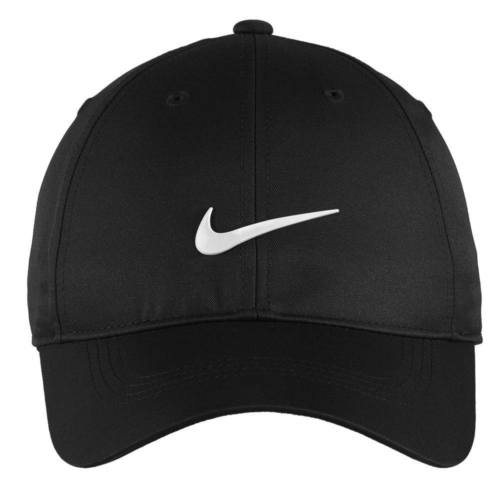 Nike Authentic Dri-FIT Low Profile Swoosh Front Adjustable Cap - Black